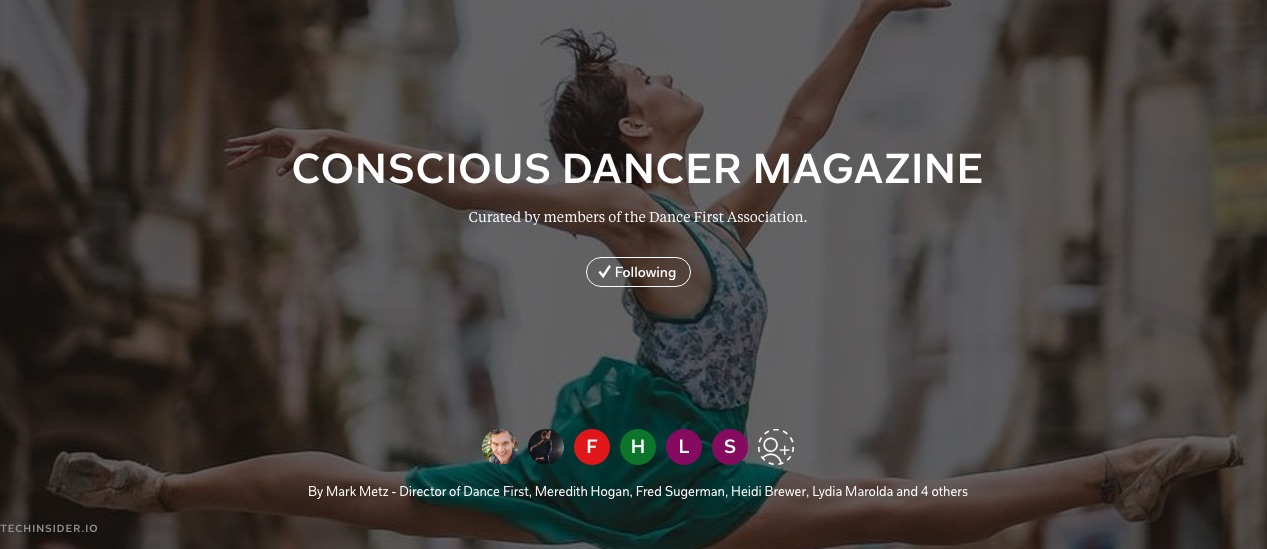 Conscious Dancer on Flipboard
