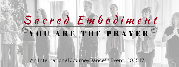 Monday Love to your Open Heart and get ready for the JourneyDance Global Event!