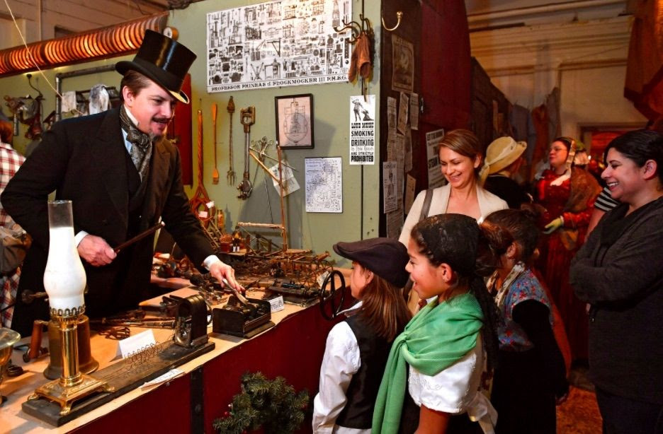 Monday Love to the Author of your Story and it's Dickens Fair time again!