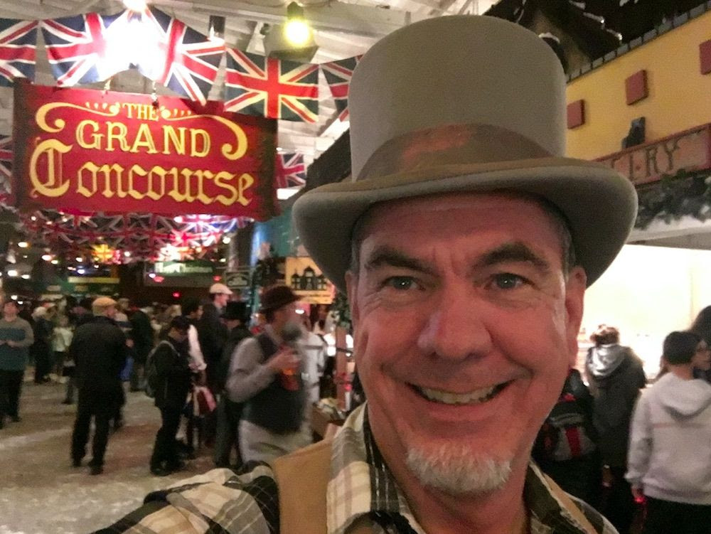 Monday Love to your Contributor Culture and tip your hat to the Dickens Fair!
